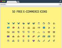 50+ Free eCommerce Icons