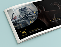 Fitness Machines Brochure Design