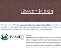 Google Site - Steven Mesia