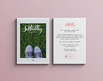 Flyer & Stickers for Sohealthy Magazine / 2016