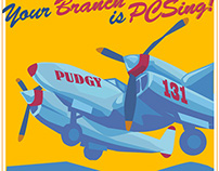 Poster for Andrews Air Force Base Credit Union
