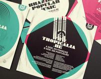 Tropicalia mpb / flyers