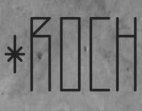 Typography Rochedo