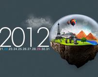 Fond d'écran - Calendrier 2012