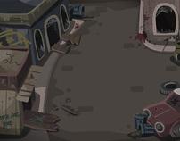 Art of Lamebo vs Zombies