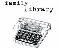 Home library organizer set