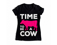 Time to be a cow
