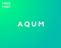 AQUM - FREE GEOMETRIC ROUNDED SANS SERIF