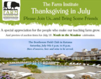 The Farm Institute - Email Marketing