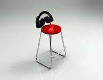 HeadPhone Bar Stool