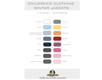 CHILDREN'S CLOTHING -JACKETS-
