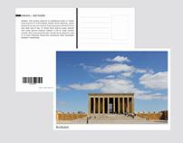 Ankara Tourist Postcard