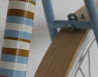 Wood Fenders / Gardes boue en bois