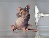 Tipsy Mouse Mural