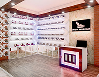 Unique Shoe Mart Interior Design
