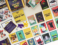Immortal Paws: Card game on how to be a savage cat