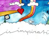life is inspiration * illustration