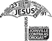 Joinville contra as Drogras - Marcha para Jesus - 2011