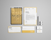 Portfolio Stationery Template