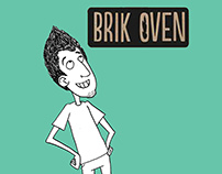 Brik Oven Illustrations