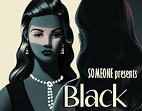 Black Rose - Noir Movie Poster