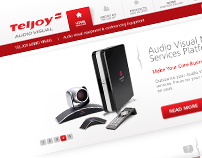 Teljoy Audio Visual Website