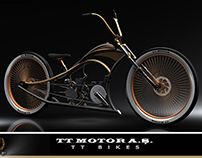 Custom Cruiser Bicycle Lowrider Bike Design