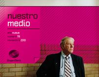 """Nuestro Medio"" - Magazine for Grupo Clarín"