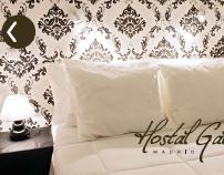 Corporate Design for Hostal Gala Madrid