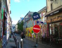 Rue des Grafitti
