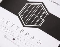 Lettera G - Brochure 2012