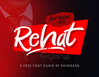 Rehat Free Font for Commercial Use