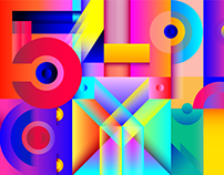 Cromatic Geomety. 36 Days of Type.