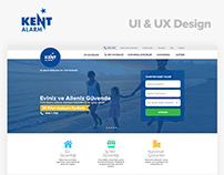 Kent Alarm & Security  UI / UX Design | kentalarm.com