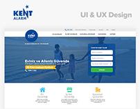 Kent Alarm & Security  UI / UX Design | kentalarm.com