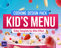 Cooking Design Pack - Kids menu