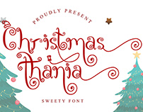 Christmas Thania Handwritten Font
