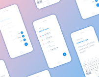 Daily UI #042 - Todo list - free Sketch source