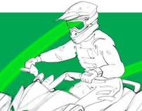 Spin Master Toys Air Hogs  Micro RC ATV