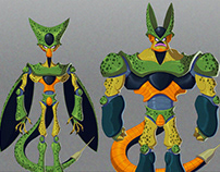 Cell (Dragon Ball): Character Design