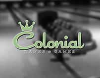 Colonial Lanes & Games rebranding