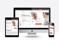 Website-Konzept Klinikverbund
