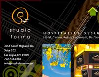 Staging Studio Forma's new website
