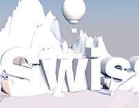 Swiss Logo 3D