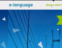 E-language