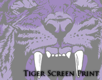 Tiger Screen Print