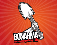 BonArmaDay [musica@palate] - visual identity