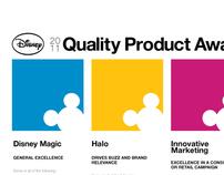 Disney Quality Product Awards 2011