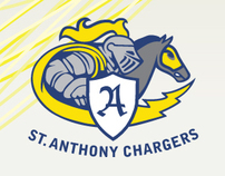 St. Anthony School Athletic Association Identity