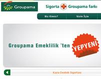 Groupama Turkey web site